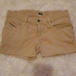 Diesel khaki shorts